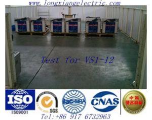 Vs1-12 Hv Indoor Vacuum Circuit Breaker with Xihari Test Report pictures & photos