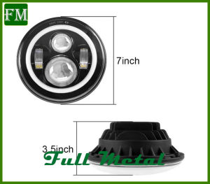 ′97-′17 Bluetooth Color Changing Halo LED Headlights for Jk and Tj pictures & photos