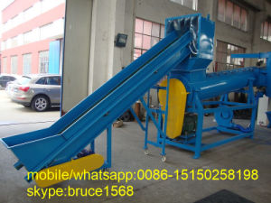 Waste Pet Bottle Crushing Recycling Machine pictures & photos