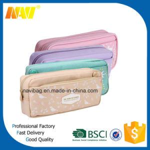 190d Nylon Case Pencil Bag with Logo Printing