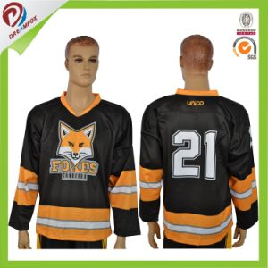 Cheap Wholesale Reversible Team Hockey Jersey Design pictures & photos