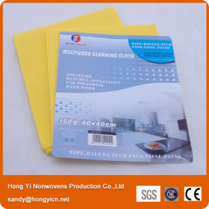 All Purpose Needle Punched Nonwoven Fabric Cleaning Cloth, Viscose Cloth pictures & photos