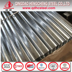 Zinc Coated Corrugated Steel Iron Sheet pictures & photos
