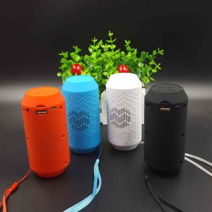 Mini TF USB Built-in Mic Dual Speaker Bass Sound Bluetooth Speaker