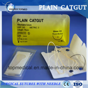 Surgical Suture with Needle pictures & photos