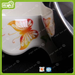Fashion Design Melamine Bowl with Stainless Steel Pet Bowl pictures & photos
