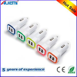 Portable Dual USB Car Charger 2 Port LED Battery Charger pictures & photos