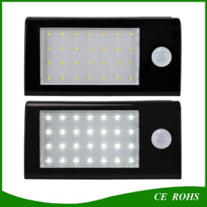 IP65 28 LED Solar Outdoor Light with Motion Sensor for Garden Fence pictures & photos