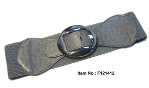 Big Buckle Grey Weaving Belt pictures & photos