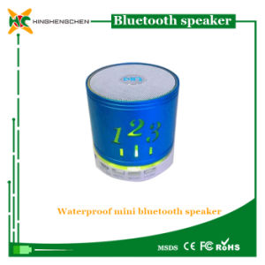 2016 New Products Mini Bluetooth Speaker with LED Light pictures & photos