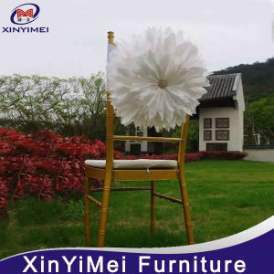 Big Flower Organza Customized Colorful Chair Sash for Wedding pictures & photos