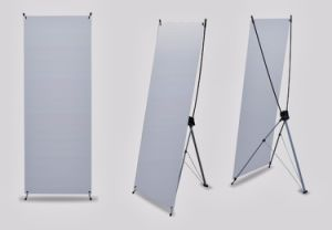 Popular X Banner Stand Custom Logo pictures & photos