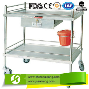 ISO9001&13485 Certification Low Price Durable Medicine Delivery Trolley Equipment pictures & photos
