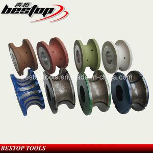 V Shape CNC Profiling Wheel for Granite Edge Grinding pictures & photos