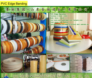 PVC Edge Banding, PVC Edge Tape pictures & photos