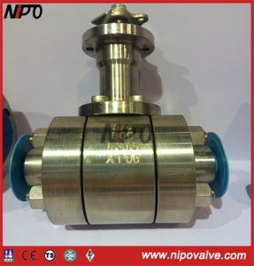 Forged Steel Floating Ball Valve with Extended Stem pictures & photos