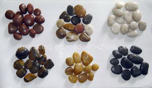 Wholesale Garden Paving Natural River Cobble Stone, Pebble pictures & photos