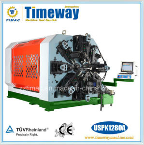 12-Axis Camless Universal CNC Coiling Spring Forming Machine with Wire Rotation pictures & photos