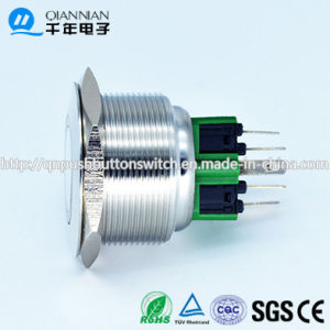 28mm Latching Angle Eye Blue 24V Spst Metal Switch (CE TUV) pictures & photos