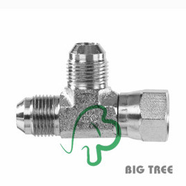 Jic NPT Male Pipe Tee Stainless Adapter pictures & photos