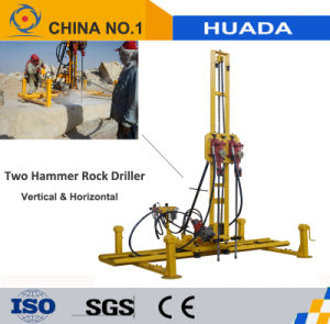 Two-Hammer Rock Drill for Vertical and Horizontal Drilling pictures & photos