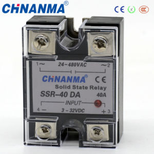 25A DC/AC Single Phase SSR Solid State Relay pictures & photos