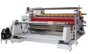 PVC Tarpaulin Roll Slitting Rewinding Machine pictures & photos