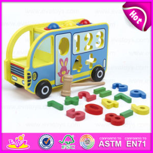 2016 Brand New Wooden Car Toy, Educational Wooden Toy Car, DIY Wooden Car Toy, Preschool Wooden Car Toy for Baby W04A213 pictures & photos
