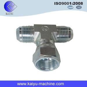 6600 Series 37 Degree Female Tube Adaptor Tee (SAE 070433) pictures & photos