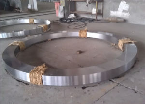 Forged H13 P9 Steel Forging Slot Ring pictures & photos