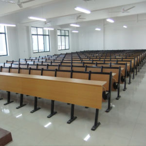 Tables and Chairs for Students, School Chair, Student Chair, School Furniture, Amphitheater Chair, Automatically Turn The Teaching Chair Steel Silencer (R-6240) pictures & photos