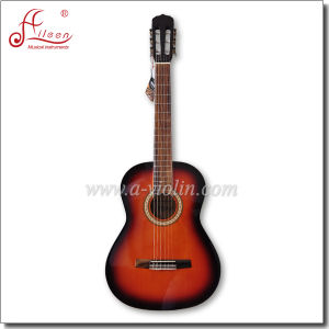 [Winzz] Wholesale 39 Inch Sunburst Classical Guitar for Beginners pictures & photos
