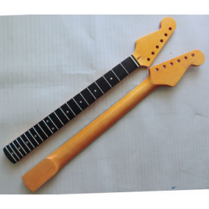 Left Handed Ebony Fingerboard Electric Guitar Neck pictures & photos