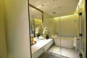Emin Nano Glass Tile Bathroom Decoration pictures & photos