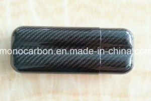 New Fashion 100% Real Carbon Fiber Humidor Case pictures & photos