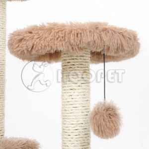 Wholesale and New Design Plush Fabric Cat Tree pictures & photos