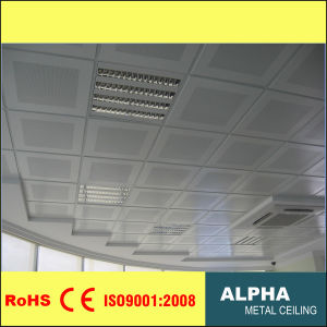 Aluminum Lay in Suspended Metal False Decorative Exposed Perforated Ceiling pictures & photos