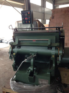 Leather Die Cutting Machine Model Ml-1100 pictures & photos
