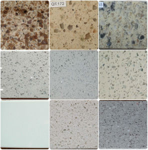 Engineered Quartz /Vanity/Granite /Marble/Table/ Work/Solid/ Natural Stone/Kitchen/Bathroom Countertop pictures & photos