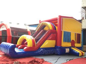 Hot Selling Inflatable Funny Bouncer with Slide (chb405) pictures & photos