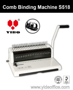 Mini A4 Size Comb Binding Machine (S518) pictures & photos