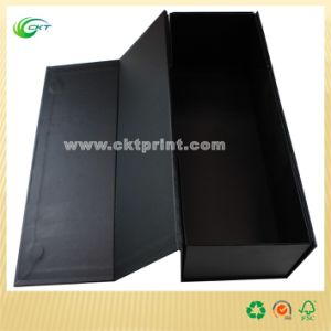 Black Wine Box for Gift Boxes (CKT-CB-388)