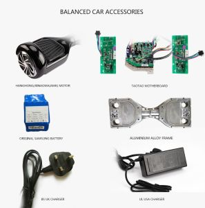 Drop Shipping Euro Warehouses Balance Wheel Hoverboard Self Balance Electric Scooter with UL 60950-1 Charger and UL 1642/Un 38.3 Battery pictures & photos
