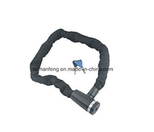 10*1000mm Bicycle Chain Lock for Mountain Bike (HLK-039) pictures & photos