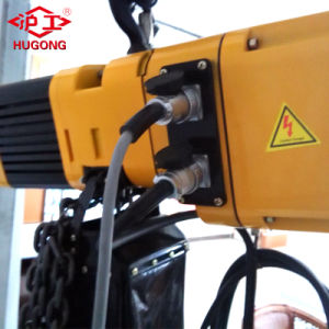 2 Ton Double Speed Electric Chain Hoist Price pictures & photos
