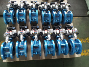 Wafer Worm Gear Butterfly Valve pictures & photos