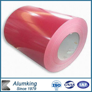 Coustomized 1000 Series Color Coated/Prepainted Aluminium Coil with PE pictures & photos
