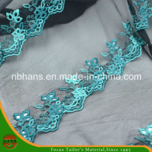 Tulle Lace Embroidery for Lady′s Garment (HATL160002) pictures & photos