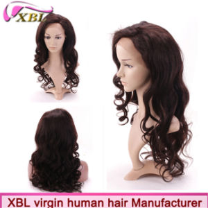 Fashionable Elegant Virgin Human Hair Lace Wigs pictures & photos