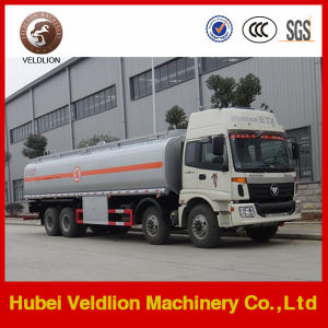 Auman 12 Wheels 8X4 Fuel Tanker Truck 30, 000 Litres pictures & photos
